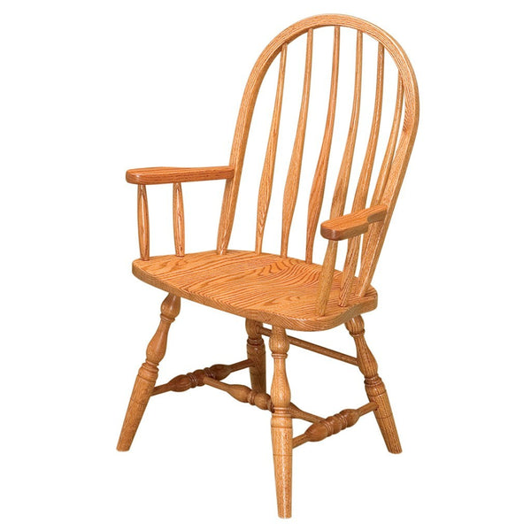 Bent Feather Dining Chair | Amish Hardwood Dining Chairs ...