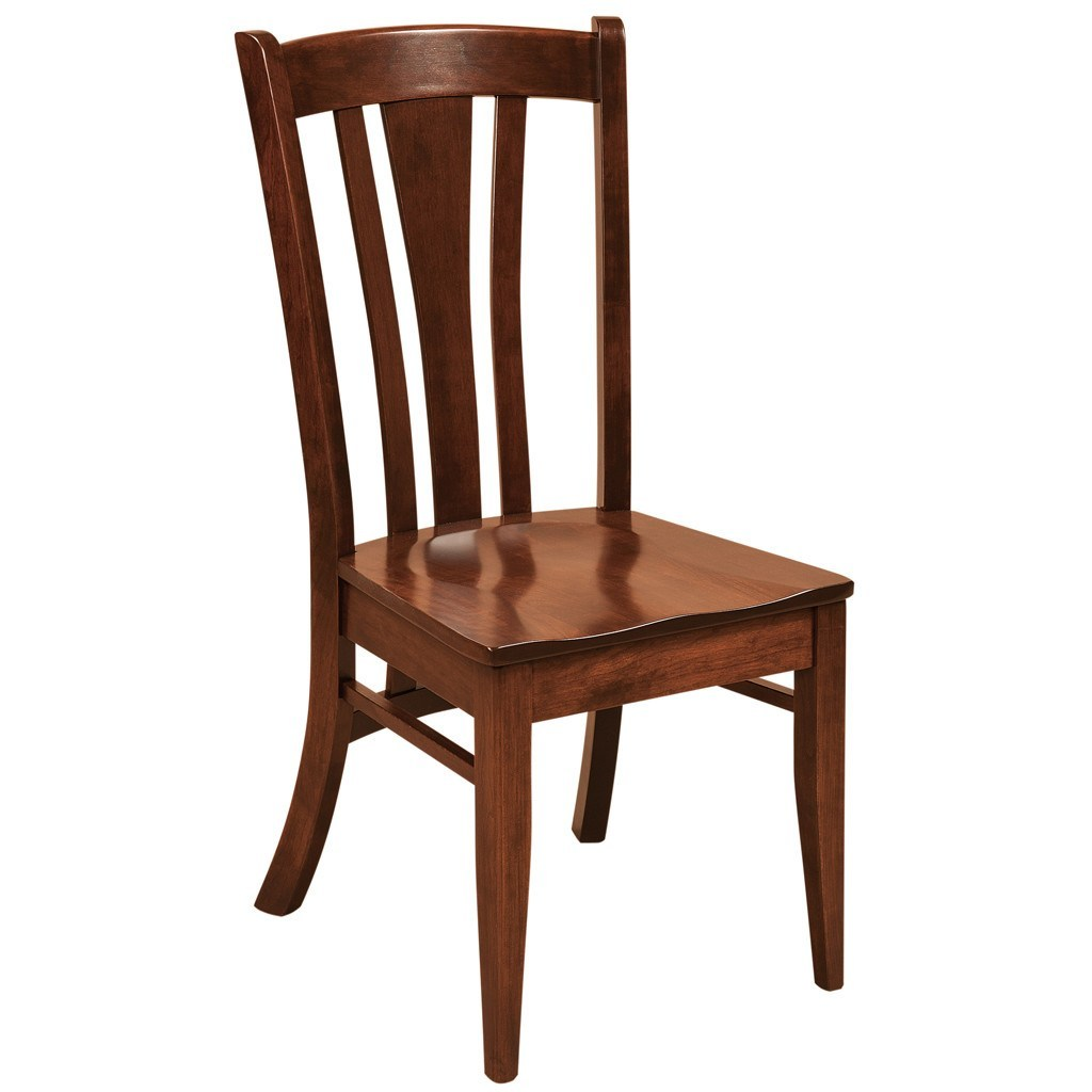 Meridan Dining Chair Amish Hardwood Chairs Amish Tables