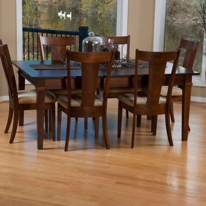 Parkland Dining Chair Amish Hardwood Chairs Amish Tables