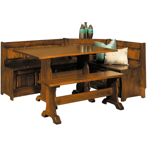 Traditional Dining Nook - Amish Tables  - 1