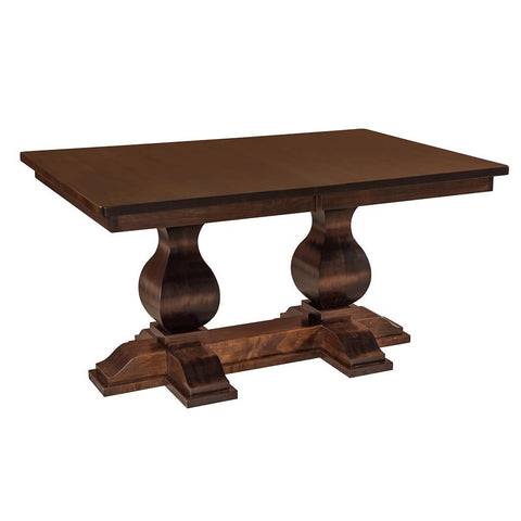 Double Pedestal - Barrington Double Pedestal Extension Table