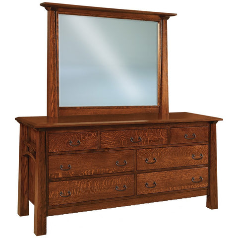 Artesa 7 Drawer Dresser - Amish Tables  - 1