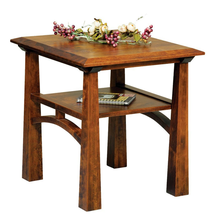 Artesa End Table - Amish Tables  - 1