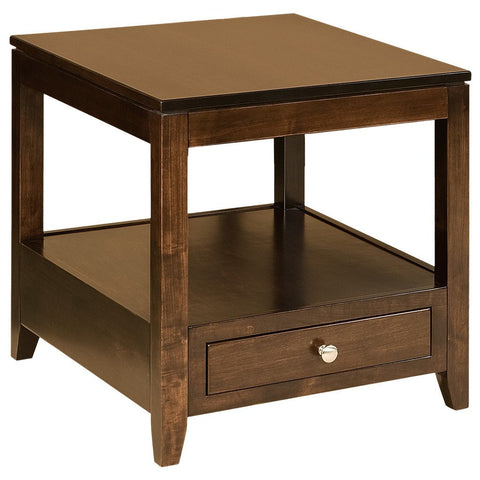 Camden End Table - Amish Tables  - 1