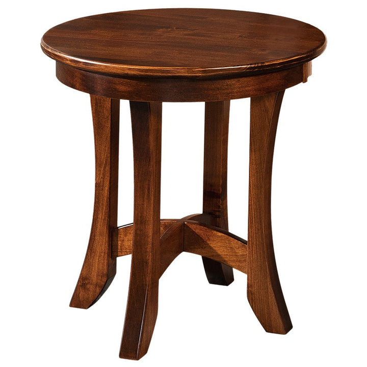 Carona End Table - Amish Tables  - 1