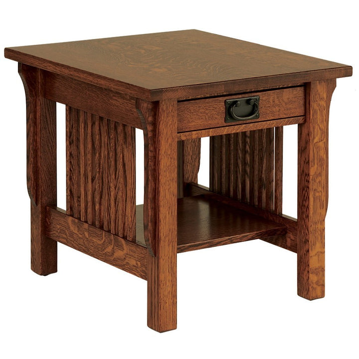 Landmark End Table - Amish Tables  - 1
