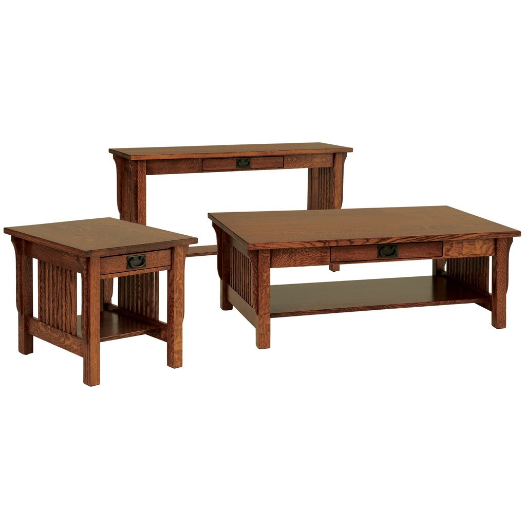 Landmark End Table Solid Wood Accent Tables Amish Tables
