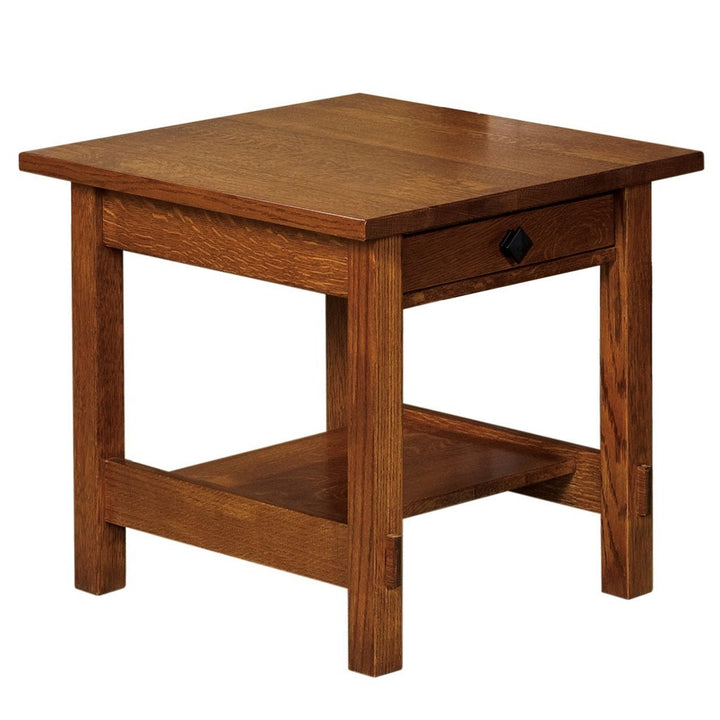 Springhill End Table - Amish Tables  - 1