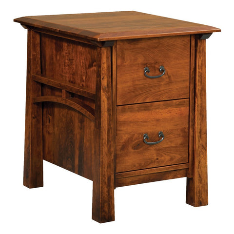 Artesa Filing Cabinet - Amish Tables  - 1