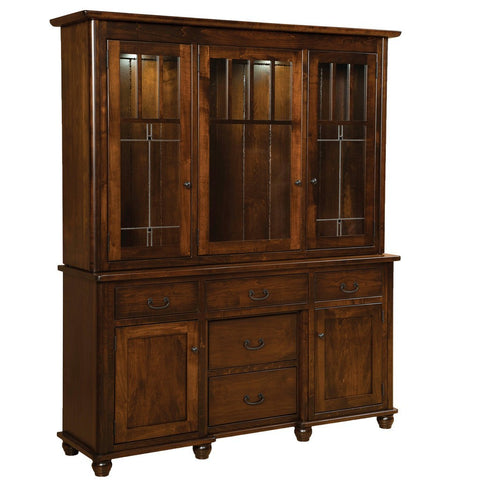Ava Closed Hutch - Amish Tables  - 1