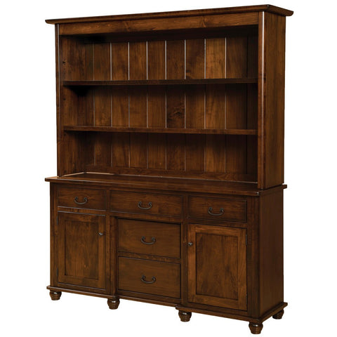 Ava Open Hutch - Amish Tables  - 1