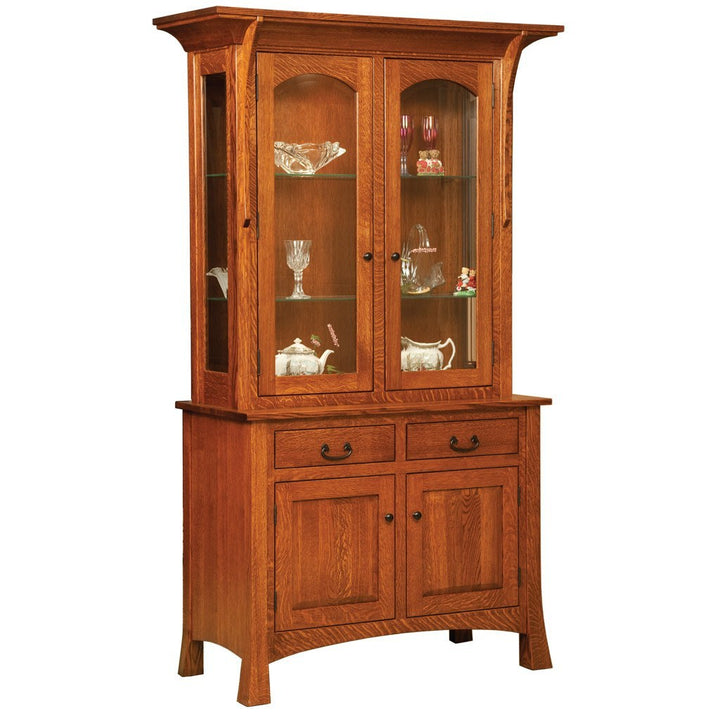 Breckenridge Hutch - Amish Tables  - 1