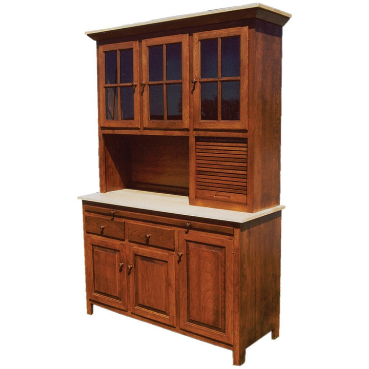 Brookline Hoosier Hutch - Amish Tables  - 1