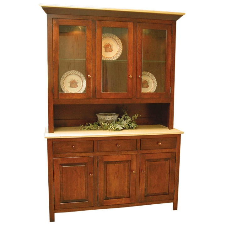 Brookline Hutch - Amish Tables  - 1
