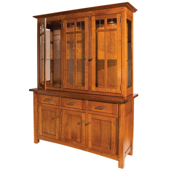 Brunswick Hutch - Amish Tables  - 1