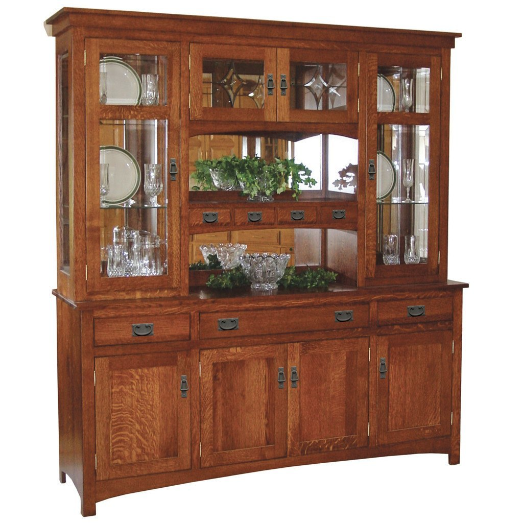 Cape Cod Mission Hutch | Solid Wood Hutches and Buffets – Amish Tables
