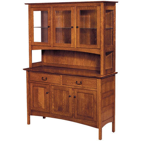 Granny Mission Hutch - Amish Tables  - 1