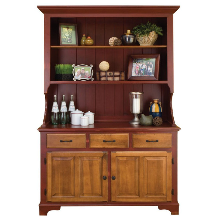 Lancaster Hutch - Amish Tables  - 1