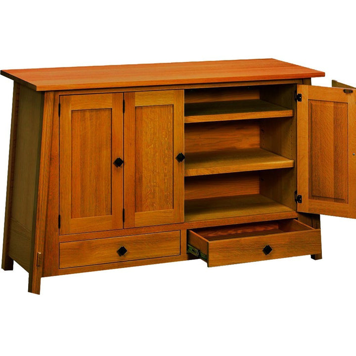 McCoy Leaf Storage Cabinet - Amish Tables  - 1