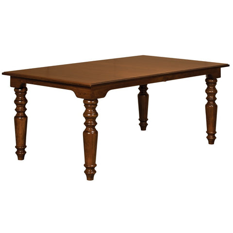 Fenmore Leg Extension Table - Amish Tables  - 1