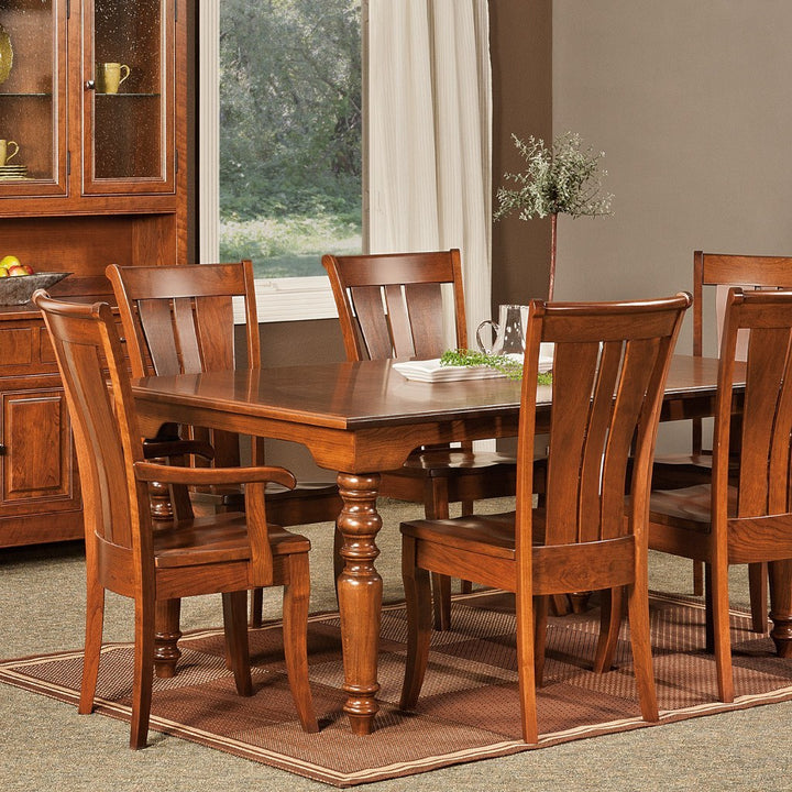 Fenmore Leg Extension Table Amish Dining Tables Amish