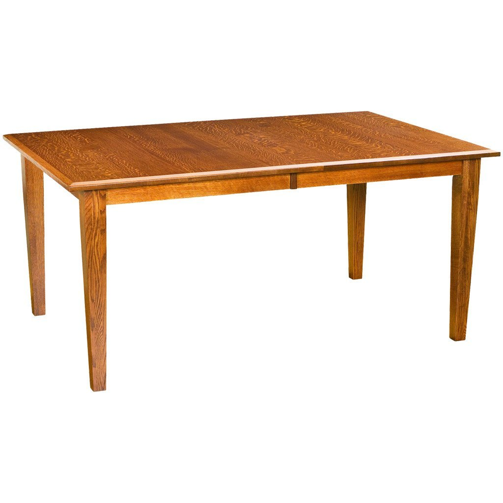 Captivating Shaker Mission Leg Extension Table   Amish Tables   1 ...