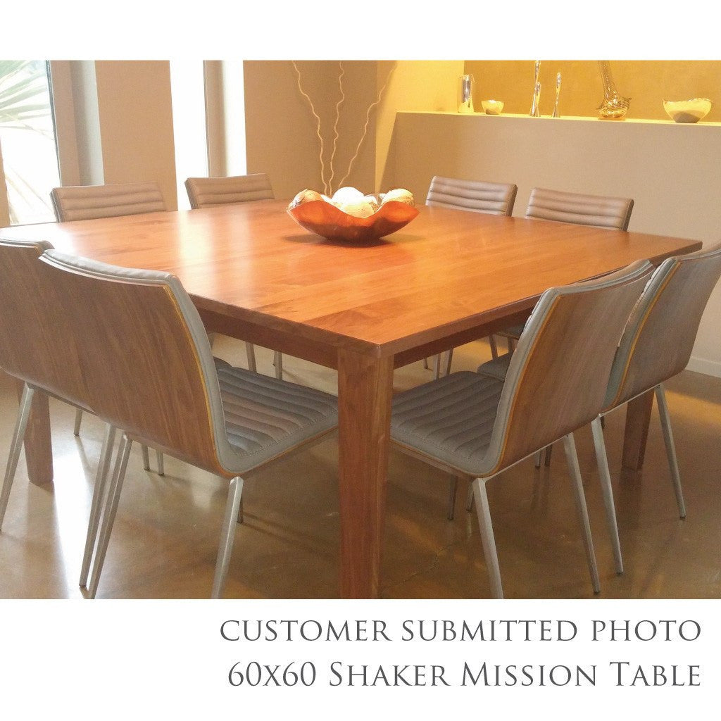 shaker mission extension table | amish dining tables – amish tables