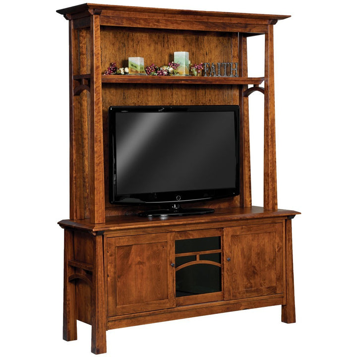 Artesa Media Cabinet - Amish Tables  - 1