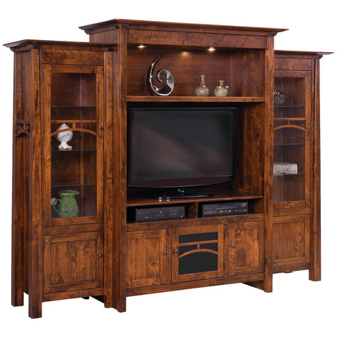 Artesa Media Wall Unit - Amish Tables  - 1