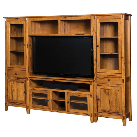 Bungalow Media Wall Unit - Amish Tables  - 1