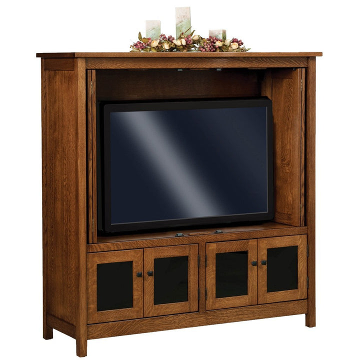 Centennial Media Cabinet - Amish Tables  - 2