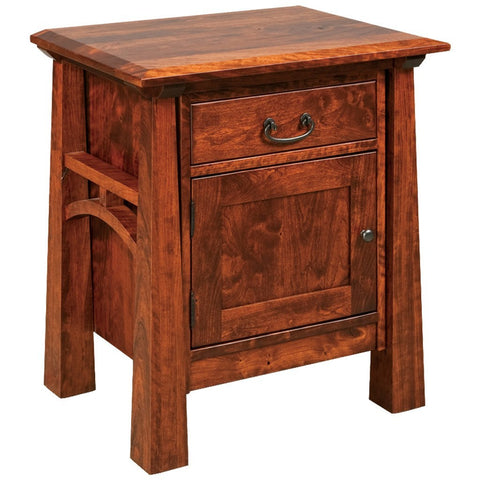 Artesa Nightstand - Amish Tables  - 1