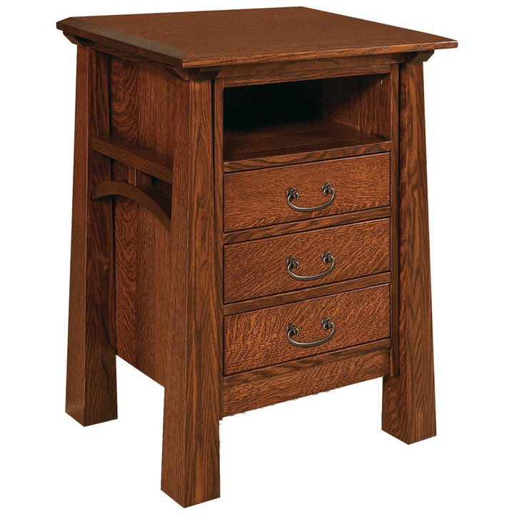 Artesa Nightstand Amish Nightstands And Dressers Amish