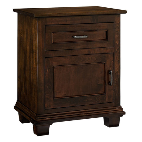 Francine Nightstand - Amish Tables  - 1