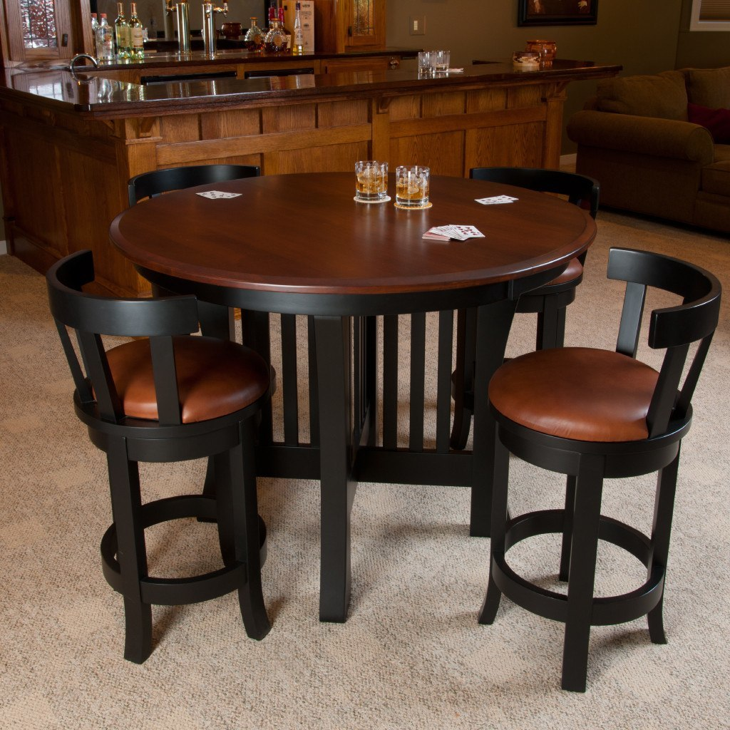 ... Arts U0026 Crafts Pub Extension Table   Amish Tables   2 ...