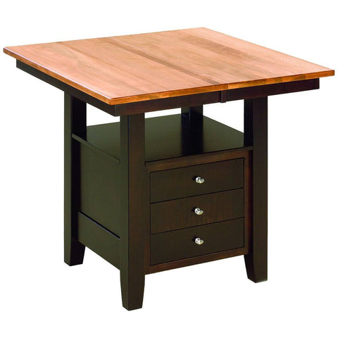 Camden Pub Extension Table - Amish Tables  - 1