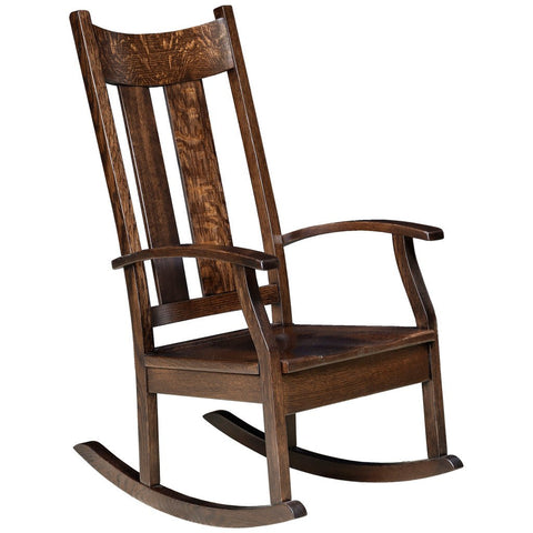 Aspen Rocking Chair - Amish Tables  - 1