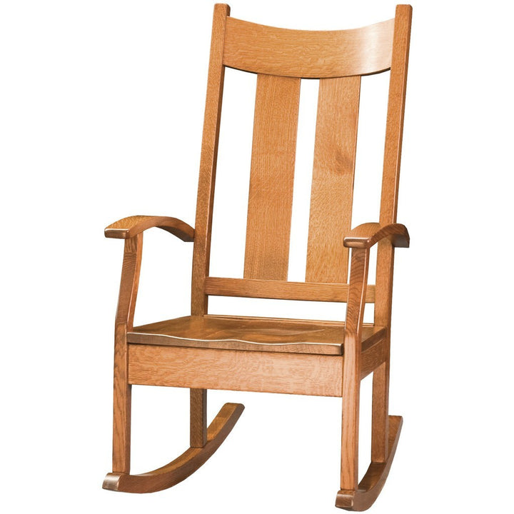Aspen Rocking Chair - Amish Tables  - 3