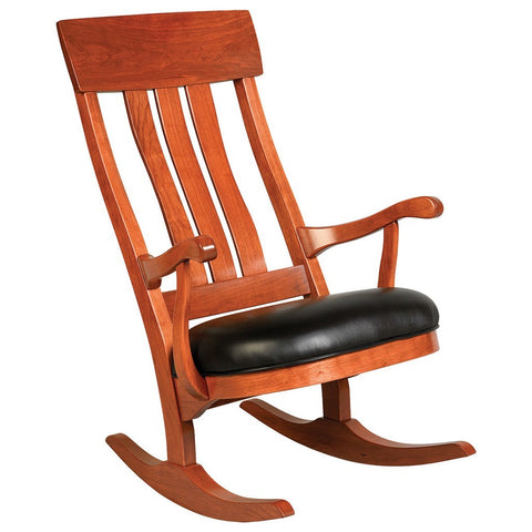 Lewis Rocking Chair - Amish Tables  - 1