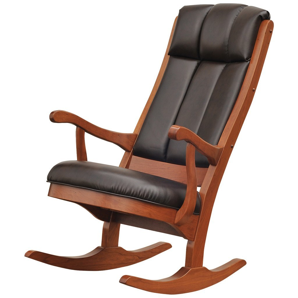 Attractive Lincoln Rocking Chair   Amish Tables   1 ...