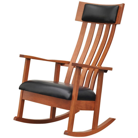 London Rocking Chair - Amish Tables  - 1