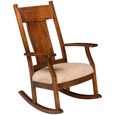 Oakland Rocking Chair - Amish Tables  - 1