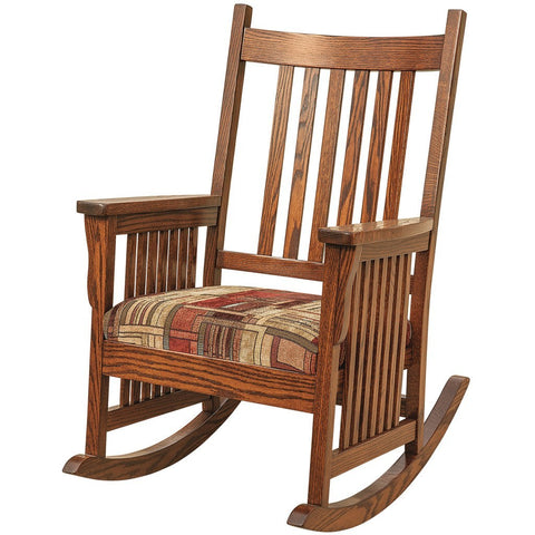 Old Century Rocking Chair - Amish Tables  - 1