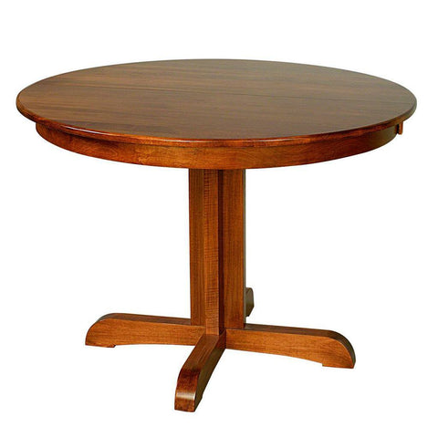 Austin Single Pedestal Extension Table - Amish Tables  - 1