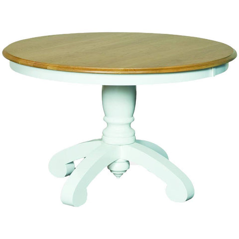 Bancroft Single Pedestal Extension Table - Amish Tables  - 1