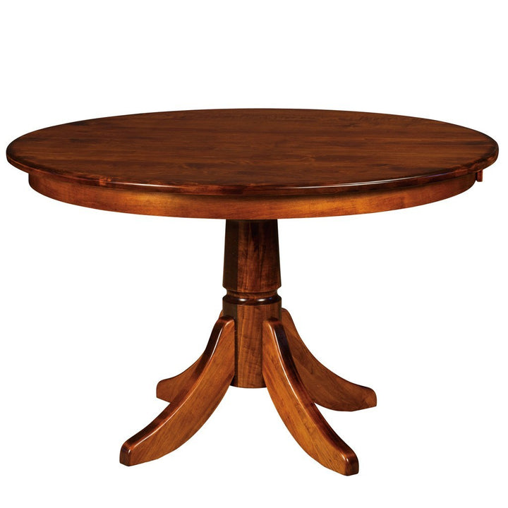 Baytown Single Pedestal Extension Table - Amish Tables  - 1