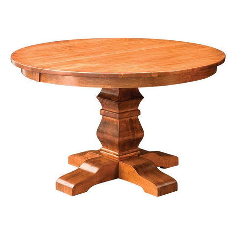 Bradbury Single Pedestal Extension Table - Amish Tables  - 1