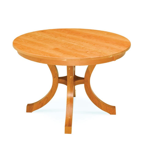 Carlisle Shaker Single Pedestal Extension Table - Amish Tables  - 1