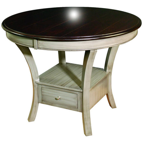 Ensenada Single Pedestal Extension Table - Amish Tables  - 1