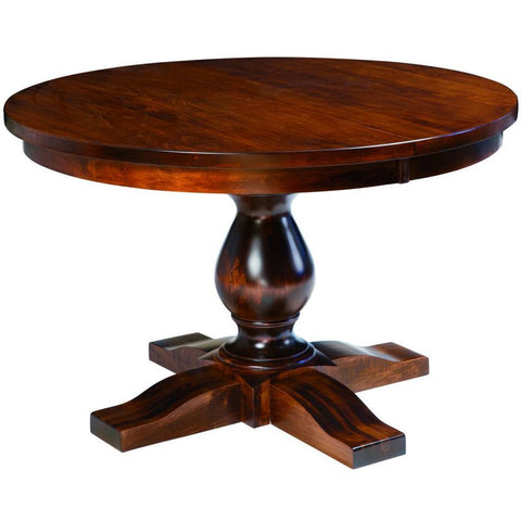 Salem Single Pedestal Extension Table - Amish Tables  - 1
